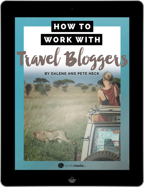 How to Work With Travel Bloggers iPad